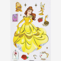 Disney Beauty And The Beast Belle And Friends Stickers - BoxLunch Exclusive
