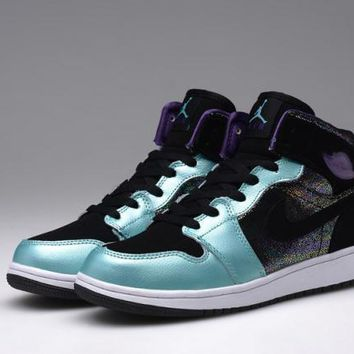 Nike Air Jordan Retro Mid Atomic Multi Color Women Sports Basketball Shoes