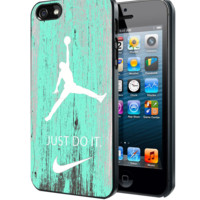 Nike Jordan Mint Wood Samsung Galaxy S3 S4 S5 Note 3 , iPhone 4 5 5c 6 Plus , iPod 4 5 case, HtC One M7 M8