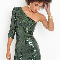 Disco Queen Dress - Emerald in  Clothes at Nasty Gal