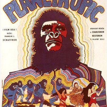 Planet of the Apes (Czechoslovakian) 27x40 Movie Poster (1968)