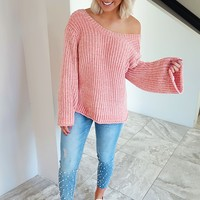 Made To Love Sweater: Pink