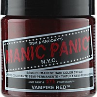 Manic Panic Semi-Permanent Vampire Red Hair Color Cream
