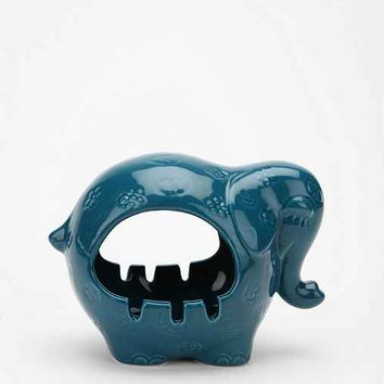 Elephant Ashtray- Blue One