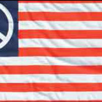 Wishful Thinking Peace Sign Flag