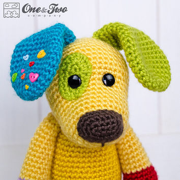 Scrappy The Happy Puppy Amigurumi Pdf From Oneandtwocompany On