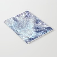 Winter pattern Notebook by Tanja Riedel
