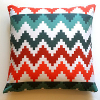 Pillow, Christmas Decor, Chevron Pillow , Accent Pillow, Various Size Pillowcase, Colourful Pillow Cover, Throw Pillow, Toss Pillow