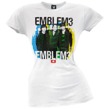 Emblem3 - Multi Group Photo Juniors T-Shirt