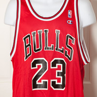 Chicago Bulls JORDAN Jersey 23 red - Champion