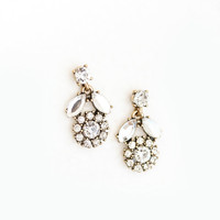 Lori Tulip Crystal Earrings