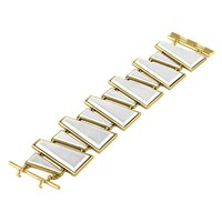 House of Harlow 1960 Jewelry Trapezio Bracelet