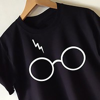 """Harry Potter"" Casual Loose T-Shirt -3 Color Options-"