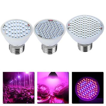Full Spectrum LED Grow Light 8W E27 500lm Spotlight Lamp Bulb Flower Plant Greenhouse Hydroponics System AC85-265V Grow Box