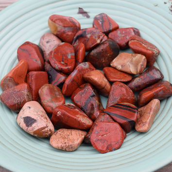 BRECCIATED JASPER Feeling Broken Piece Yourself Back Together Stone - Heal Root Chakra