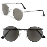 Men's Randolph Engineering 'P3 Retro' 49mm Sunglasses - Bright Chrome/ Grey