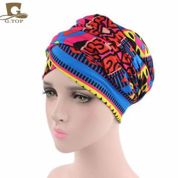 ICIKION New African Design Headscarf Long Head Scarf Jewish Headcover Turban Shawl Warp Hair African Bohemian Headwrap Chemo Turbante