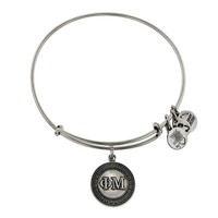 Alex and Ani Phi Mu Charm Bangle - Russian Silver