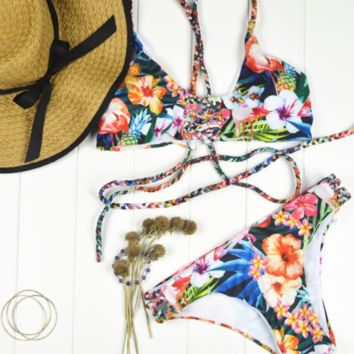 Tropical Vibes Bikini Set