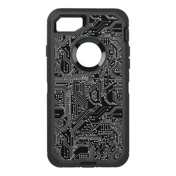 Computer Circuit Board Defender iPhone 7 Case