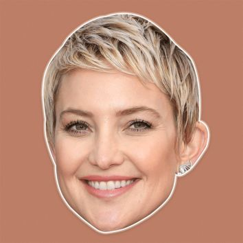 Happy Kate Hudson Mask - Perfect for Halloween, Costume Party Mask, Masquerades, Parties, Festivals, Concerts - Jumbo Size Waterproof Laminated Mask
