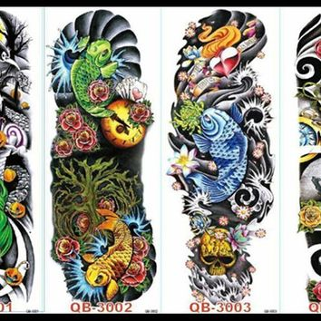 48 X 15CM cool men and women temporary Full arm tattoo (56 design) #3