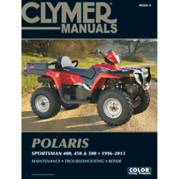 Clymer Polaris 400, 450 & 500 Sportsman (1996-2013)