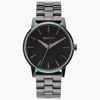 Nixon Small Kensington Watch Gunmetal/Multi One Size For Women 25981395701