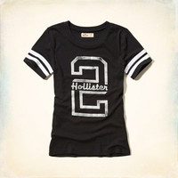 Sporty Logo Graphic Tee