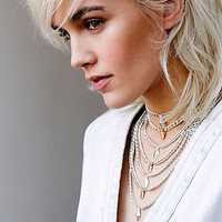 Free People High Vibrations Statement Choker