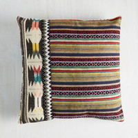 Boho Beat Front Property Pillow by Karma Living from ModCloth