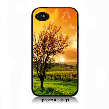 Unique Tree I phone 4 case, Iphone case, accessory cover