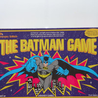 Vintage The Batman Board Game 1989