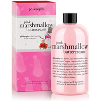 pink marshmallow buttercream | shampoo, shower gel & bubble bath | philosophy