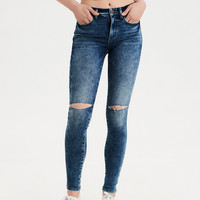 AE Super Soft High-Waisted Jegging, Shattered Breeze
