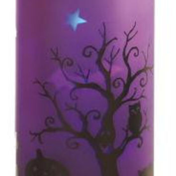 Halloween Candle - Purple