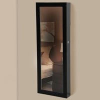 Best Choice Products® Mirrored Jewelry Cabinet Armoire Organizer Storage Wall Mount