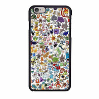 pokemon all caracters case for iphone 6 6s