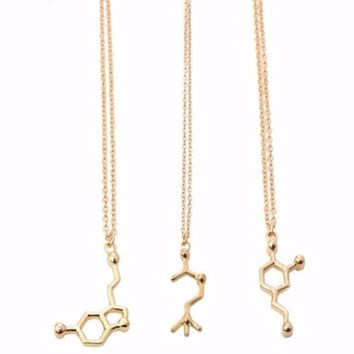 Neurotransmitter Molecular Necklace
