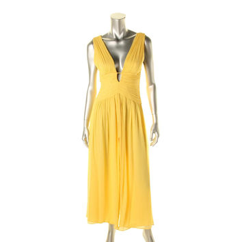 JILL Jill Stuart Womens Silk Slit Evening Dress