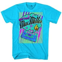 Mac Miller Macdelic Cassette Most Dope Slim Fit T-shirt