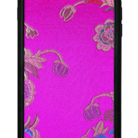 Pink Floral Brocade iPhone 6 Plus/6s Plus Case