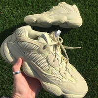 YEEZY 500 SUPERMOON YELLOW UK 7 NEW WITH TAGS IN BOX ADIDAS ORIGINALS