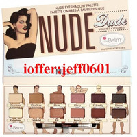 2016 The Balm Cosmetics Nude Dude 12Colour Eyeshadow
