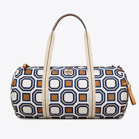 Tory Burch Printed Nylon Duffle