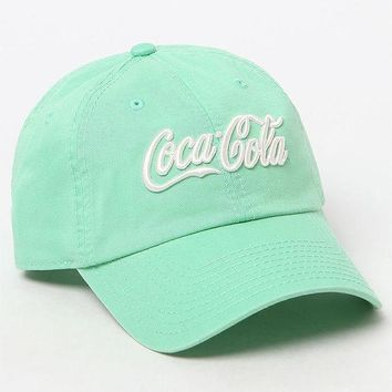DCCKYB5 American Needle Washed Coke Slouch Dad Hat