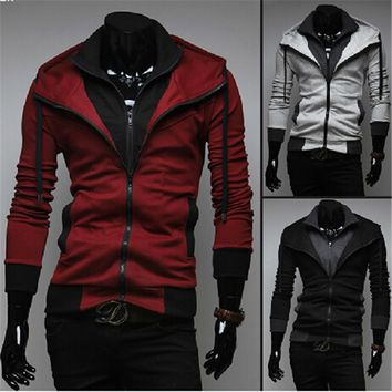 Assassin Double Layer Zip Hoodie