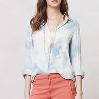 Anthropologie - Cloudscape Buttondown