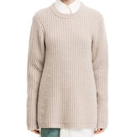 Acne Studios Dixie Beige Lambswool Sweater