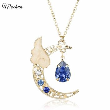 Romantic Series Sailor Moon Necklaces Wing Charm Pendant